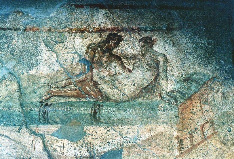 Что касается секса, то в Риме женщина уравнивалась с мужчиной в праве