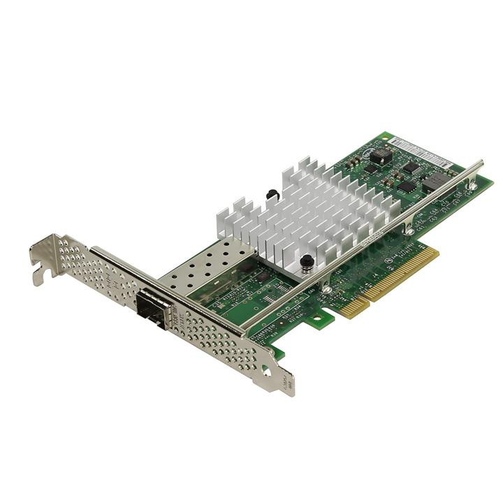 10-ти гигабитная PCI-E сетевая карта INTEL X520-DA1 с модулем SFP+