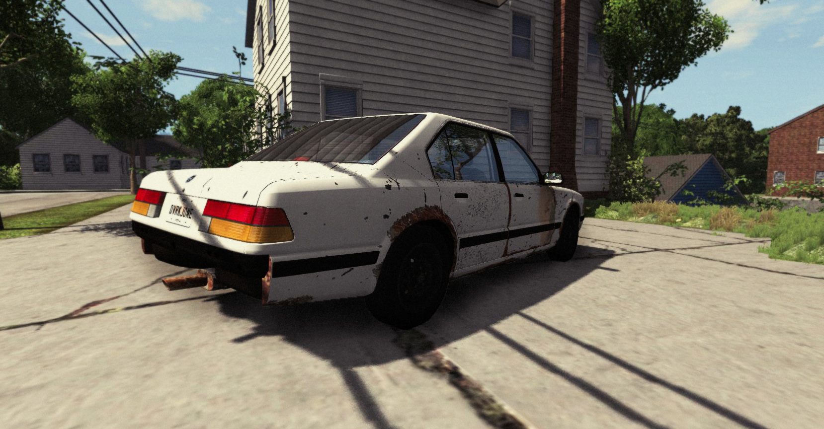 Beamng Old Broken Car