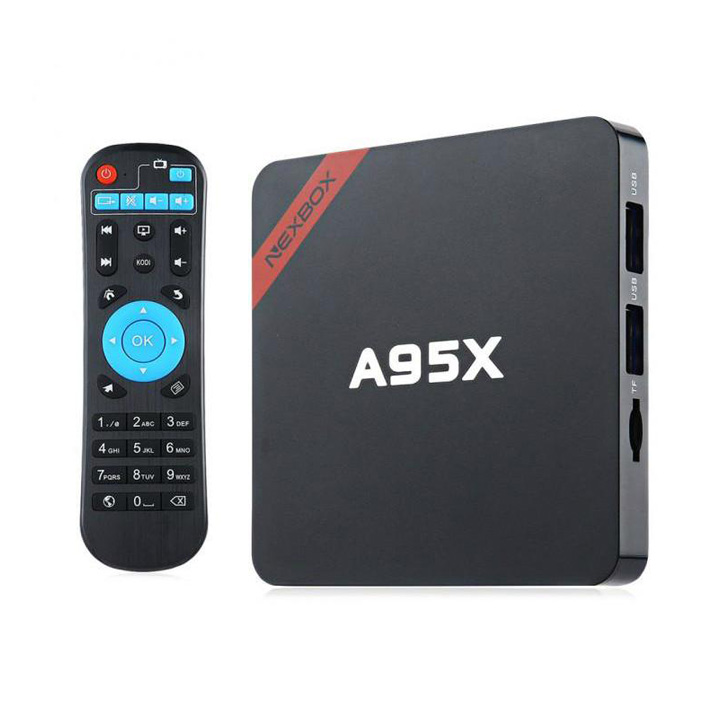 Cтандартная Android HD приставка с поддержкой 2,4ГГц Wi-Fi NEXBOX a95x